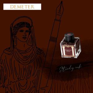 Laban Greek Mythology ink - Demeter Brown - Sample