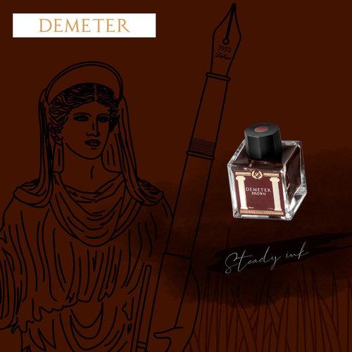 Laban Greek Mythology inkt - Demeter Brown - Sample