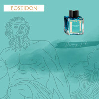 Greek Mythology inkt - Poseidon Green - Sample