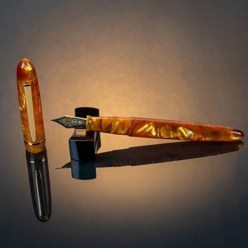 Edison Pen Co Edison Menlo vulpen - Sweet Honey