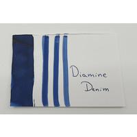 Diamine vulpen inkt Denim - sample