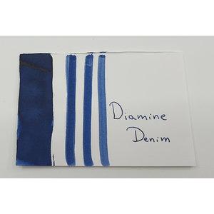 Diamine Diamine vulpen inkt Denim - sample