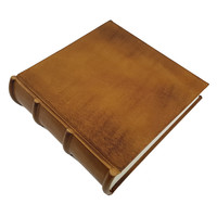 Monterosso leren fotoalbum - Cognac