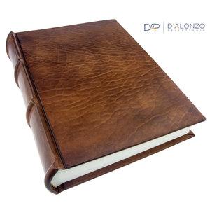 Legatoria Koiné Monterosso leather photo album - Dark Brown