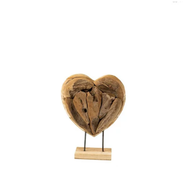 Teakhouten hart small