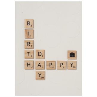 Räder Woorden letters birthday