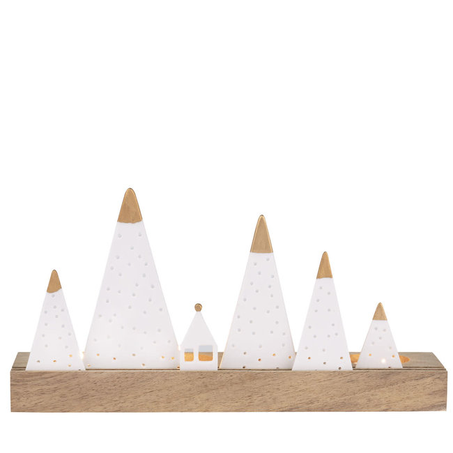 Light object hills