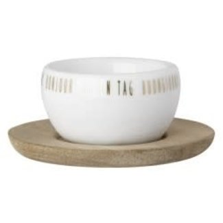 Räder Egg cup with plate