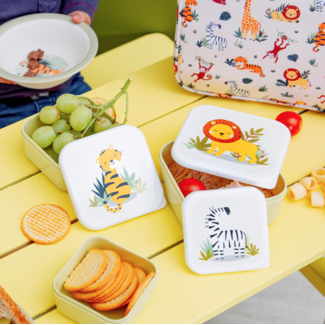 Sass & Belle Lunch boxes safari