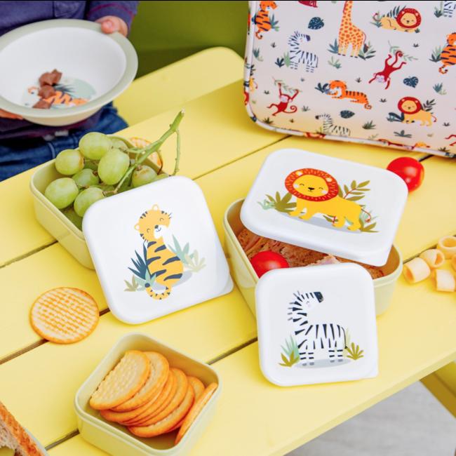 Lunch boxes safari