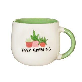 Sass & Belle Keep Growing Mug