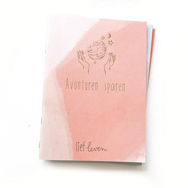Lief Leven Lief Leven | Avonturen sparen schrift