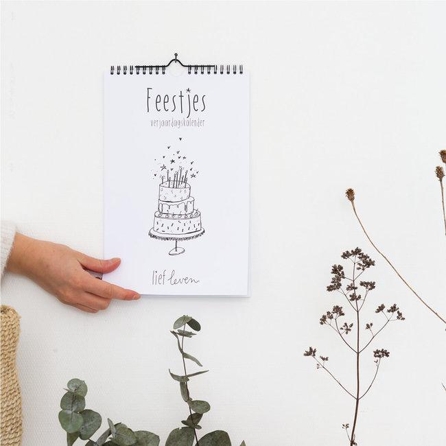 Lief Leven | Verjaardag kalender