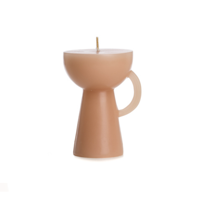 Rustik Lys | Kaars sculpture Cup Roze