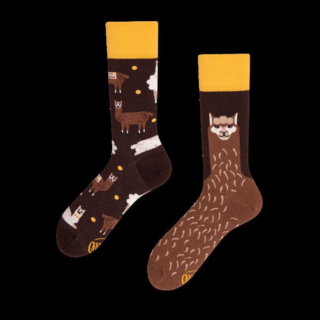 Sokken Fluffy Alpaca