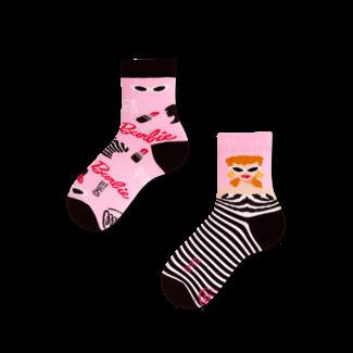 Many Mornings Sokken Kids Barbie