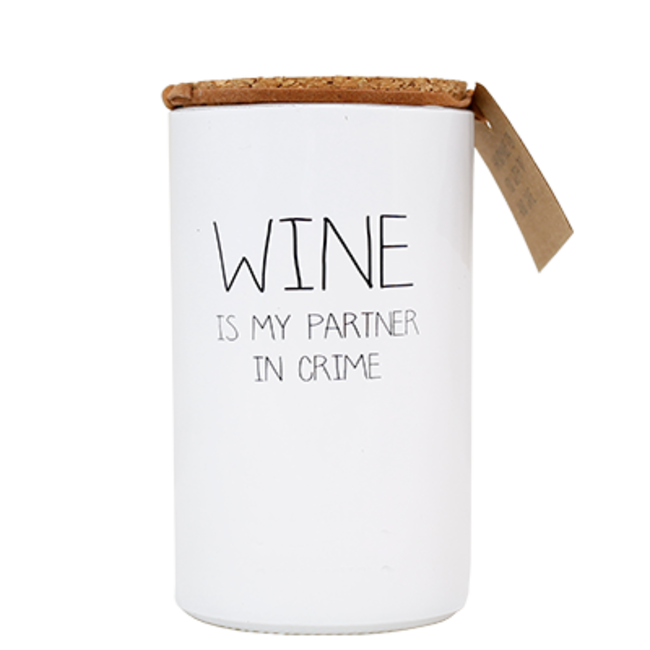 My flame | Wine, partner in crime