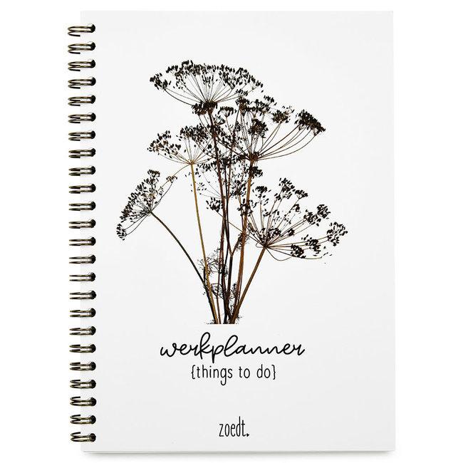 Werkplanner things to do droogbloemen