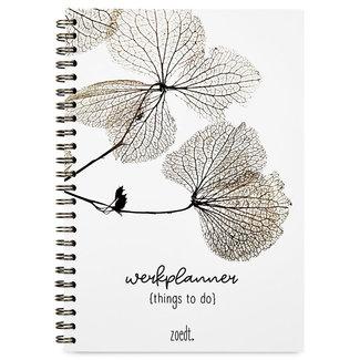Zoedt Werkplanner things to do gedroogde bladeren