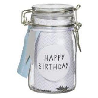 Räder Happy birthday glass