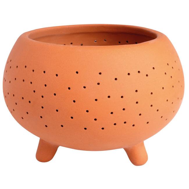 Outdoor terracotta tea light 4,5 cm