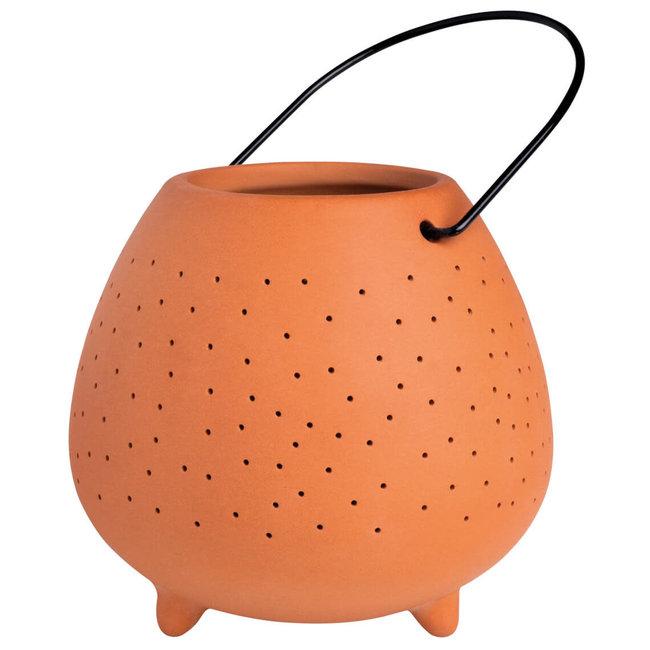 Outdoor terracotta lantaarn