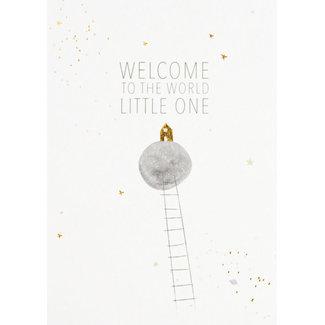 Räder Welcome little one kaart