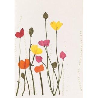 Räder Raeder kaart flower