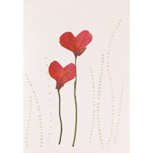 Raeder flower card