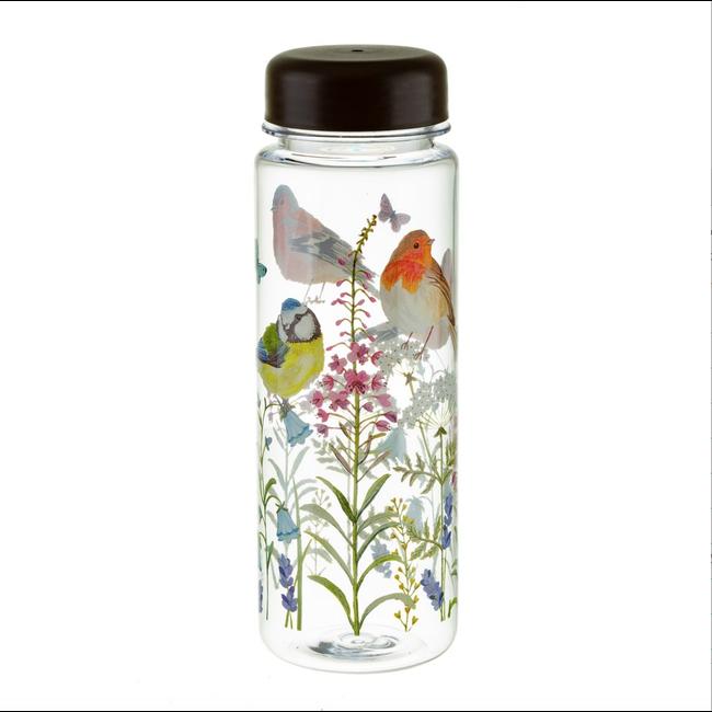 Garden birds water bottle - sass en Belle