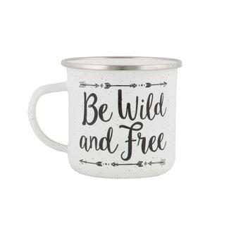 Sass & Belle Adventure Speckled Enamel Mug