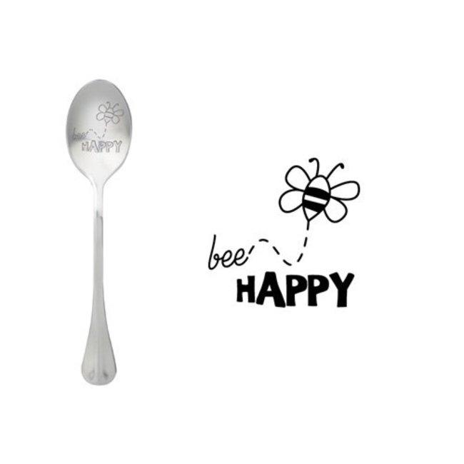 Theelepel Bee Happy