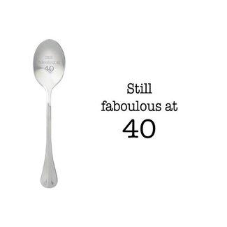 theelepel still fabulous at 40