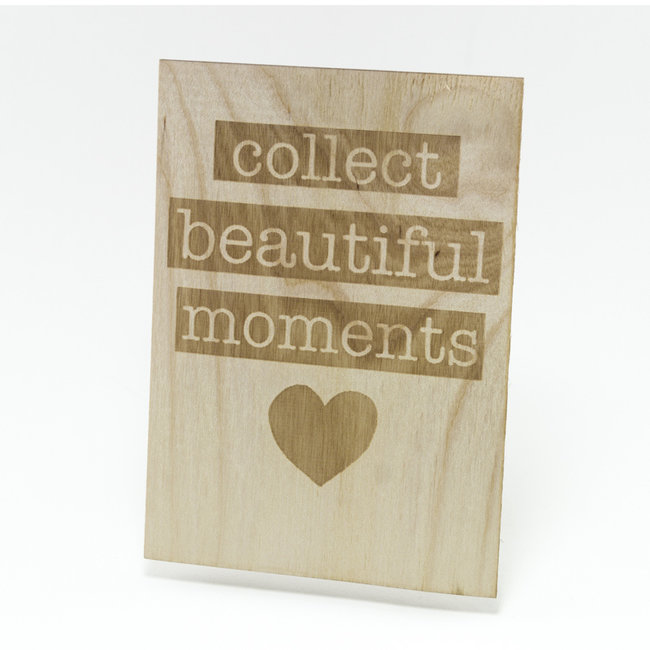 houten kaart collect beautiful things