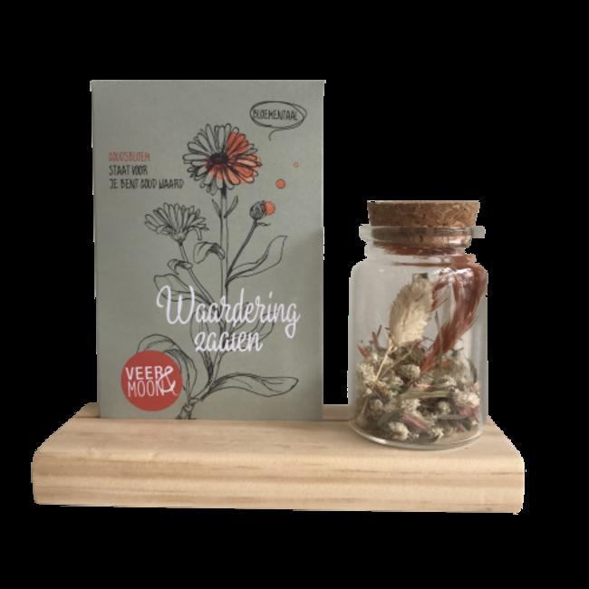 Pakketje droogbloemen