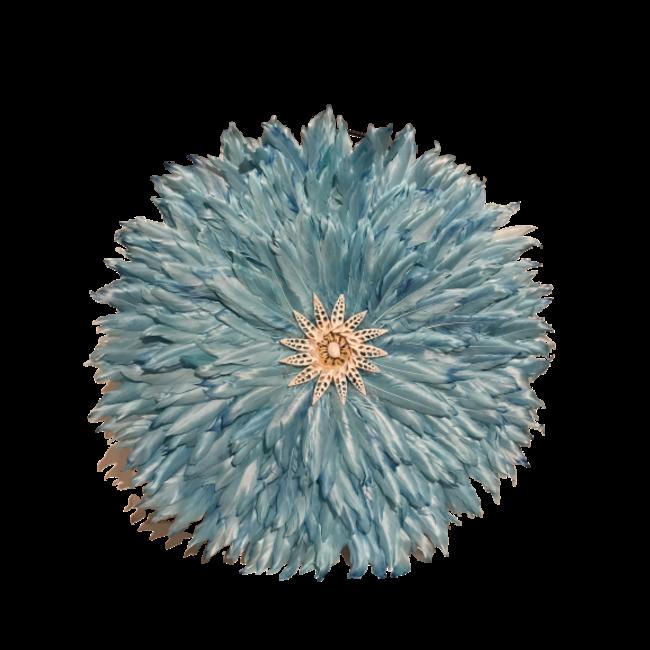 veren ornament blauw
