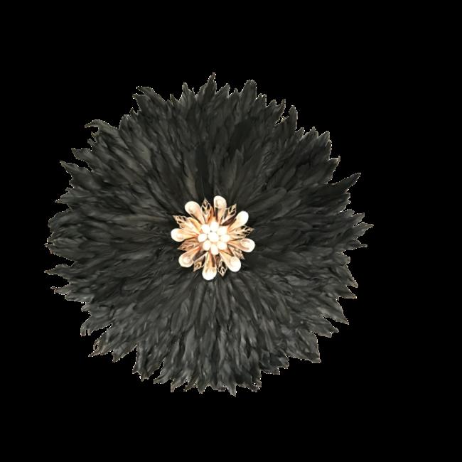 Veren ornament zwart