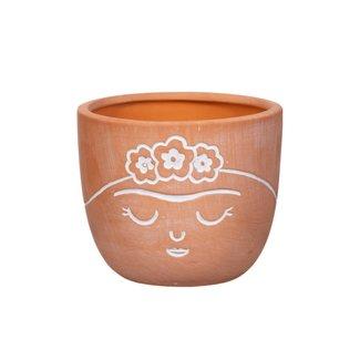 Sass & Belle sass en belle frida terracotta mini planter