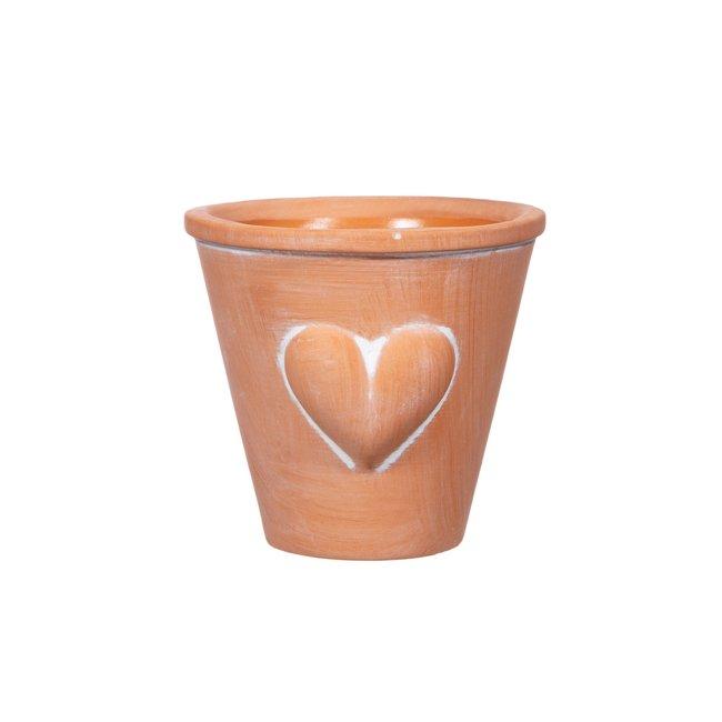 sass en belle heart mini planter