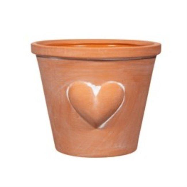 sass en belle heart planter