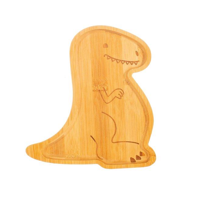 t rex bamboo plate