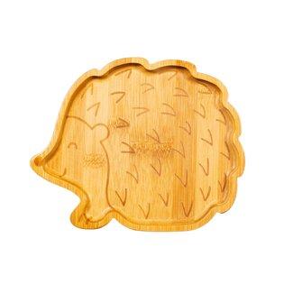 bamboo hedgehog plate