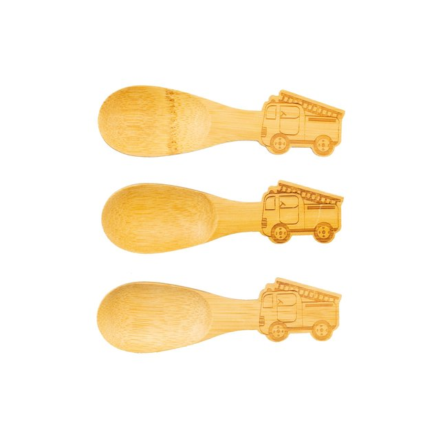 bamboo fire engine spoons