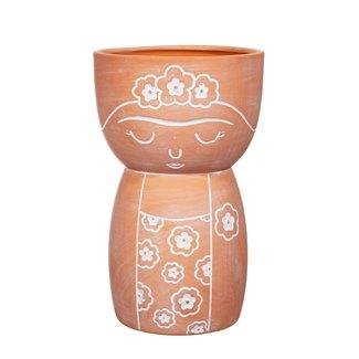 Sass & Belle sass en belle frida terracotta pot