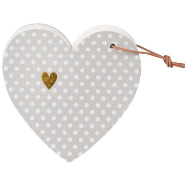 Heart notes dots