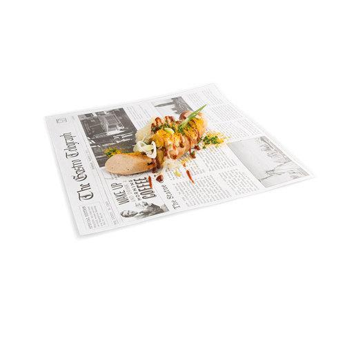 SIER Vetvrij Papier met News Paper opdruk