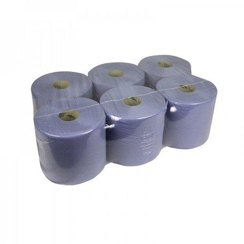 HygienPro Handdoekrollen Blauw Midi 160 meter