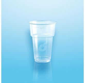 Plastic Bierglazen