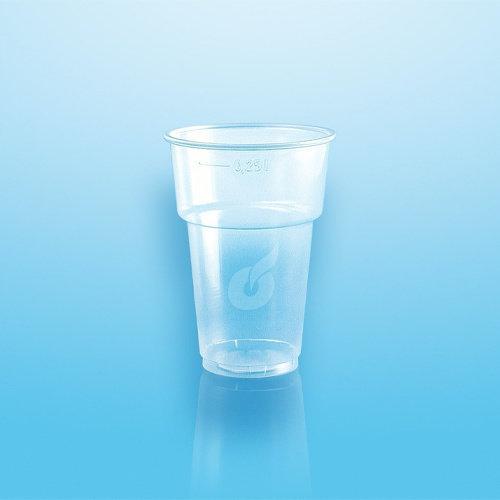 Pro Pac Plastic Bierglazen