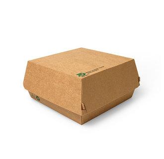 Hamburger Bakjes Groot Karton